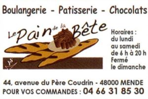 logo boulangerie de la bête